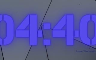 04:40 на часах — значение в ангельской нумерологии