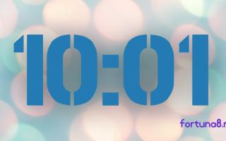 10:01 на часах — значение в ангельской нумерологии