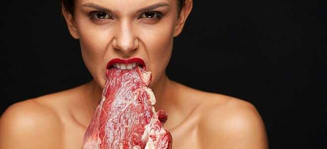 Если женщина во сне ест мясо: сырое, жареное, с кровью
