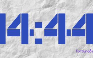 14:44 на часах — значение в ангельской нумерологии